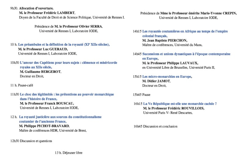 2019-04-08 - Programme colloque IODE
